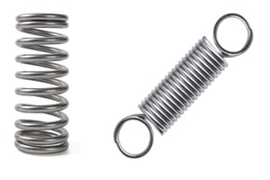 types of springs. design and engineering with springs types of