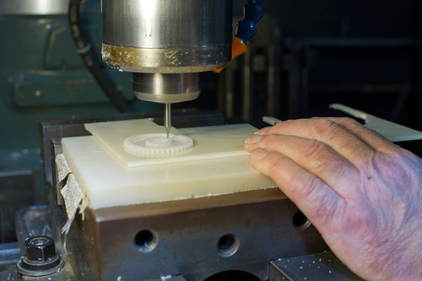 Creative Mechanisms CNC Work By Hand