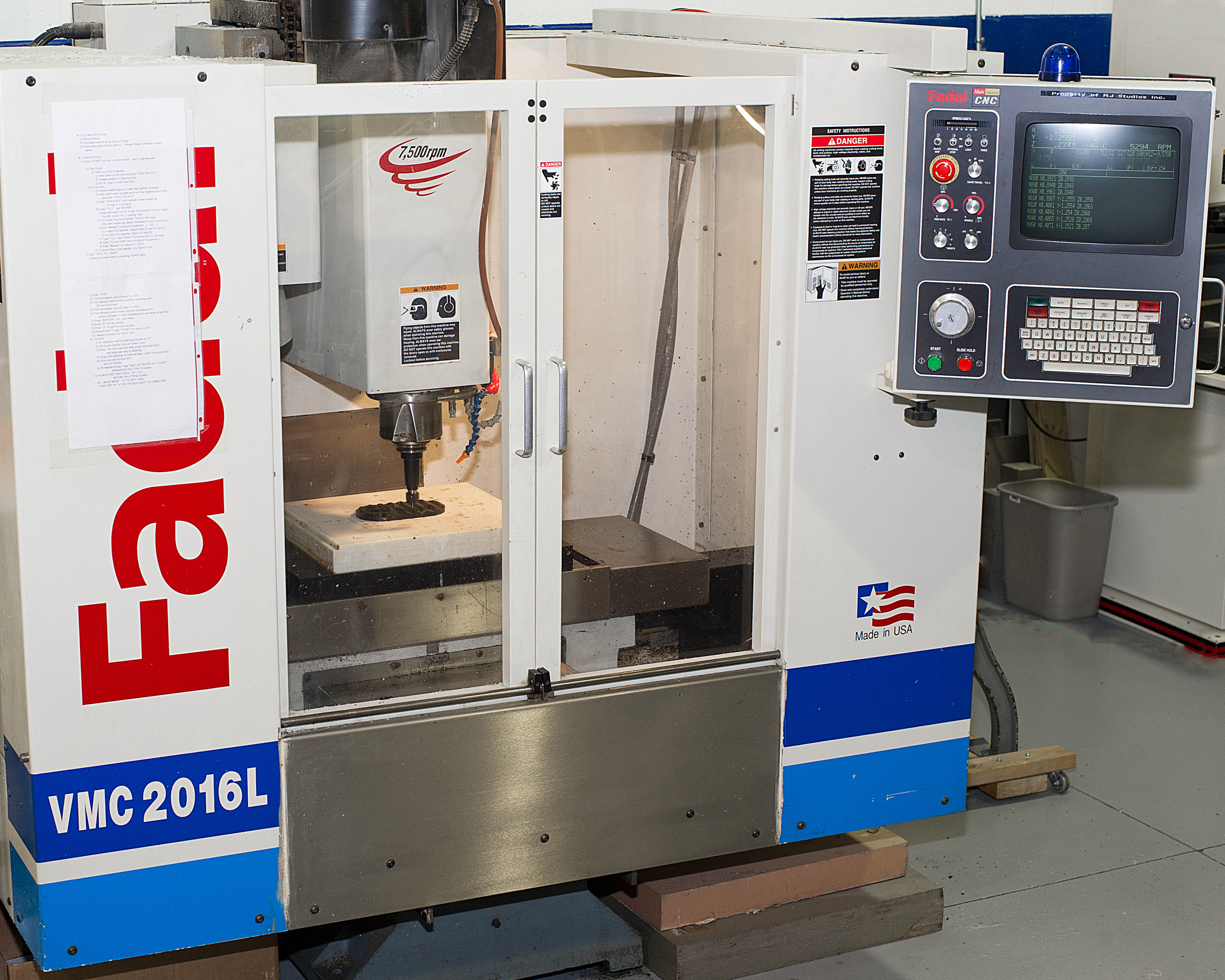 VMC 2016L CNC Machine