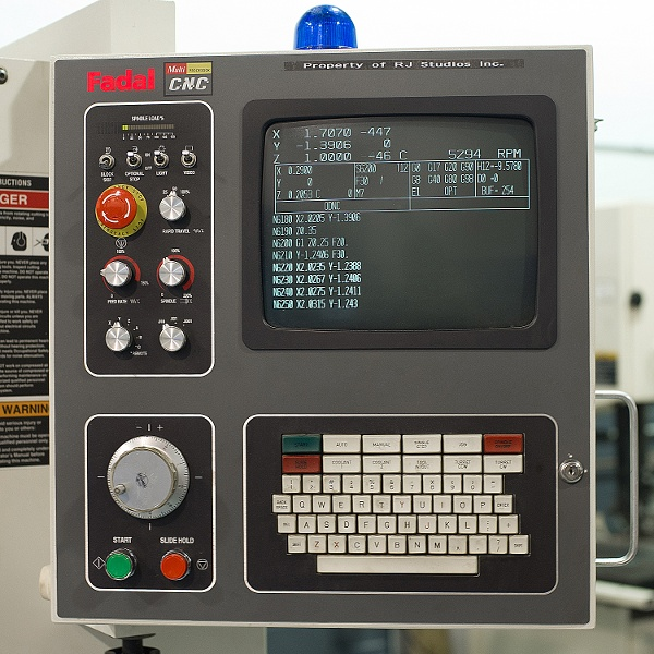Computer Numerical Control UI
