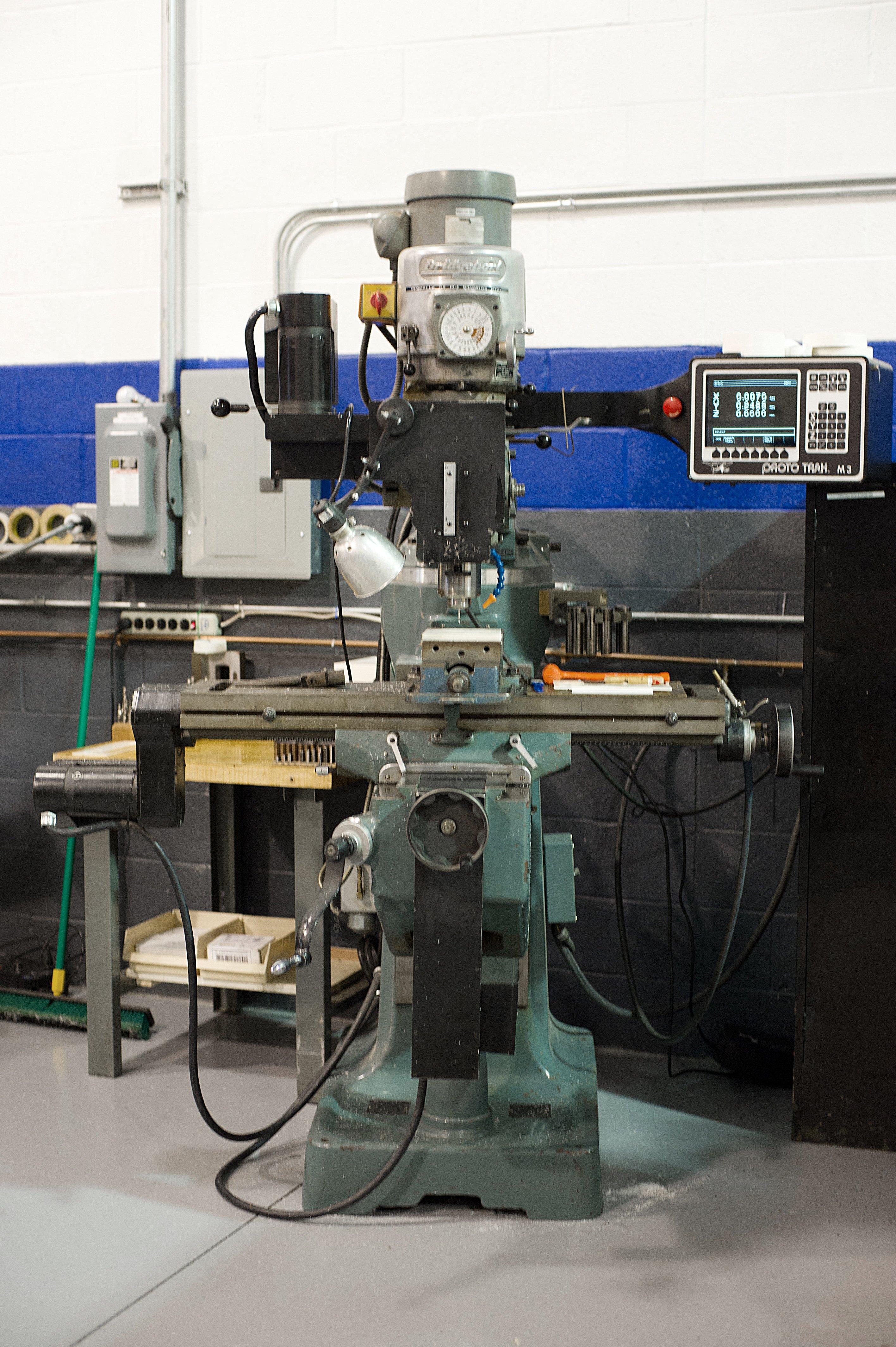 Single Tool Programmable CNC Machine