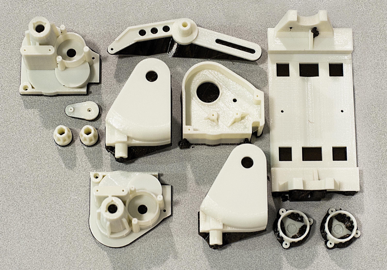 ABS Prototype Plastic parts