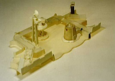 Model Fabricated in Sheet ABS Plastic