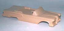Carved Acetate Car Body Pattern