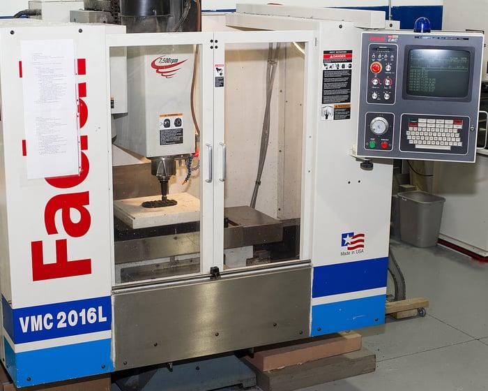 VMC 2016L Multi-tool CNC Machine