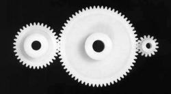 Acetal (Polyoxymethylene, POM) gears