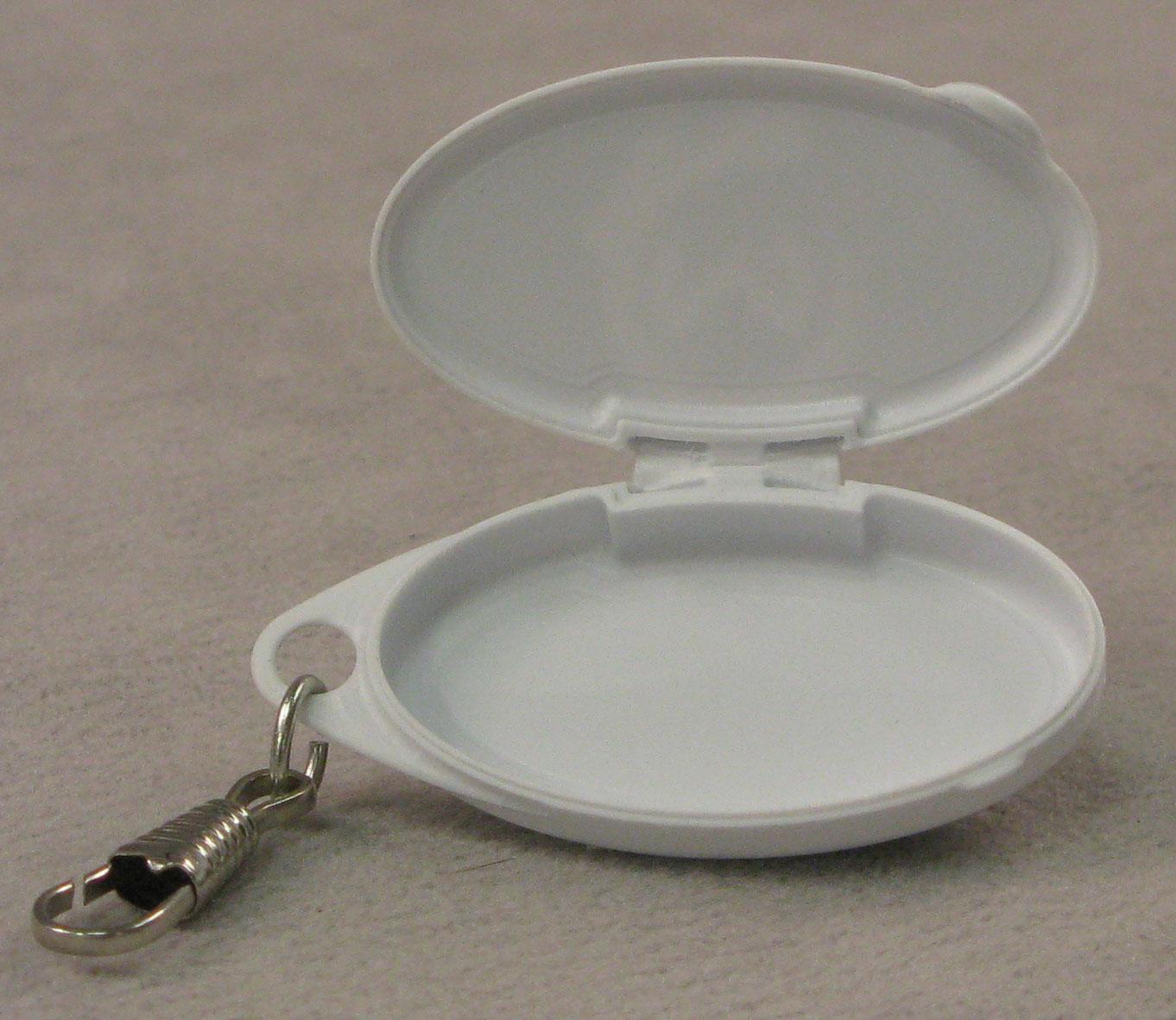 polypropylene (PP) living hinge box open