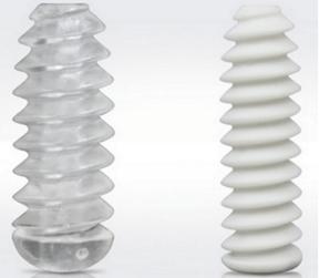 PLA biodegradable plastic pin