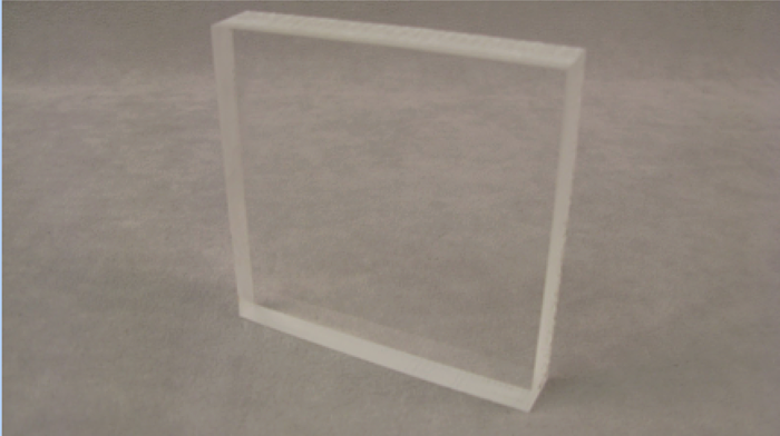 Clear Acrylic Stock Plastic for CNC Machine Magnifying Glass Lens