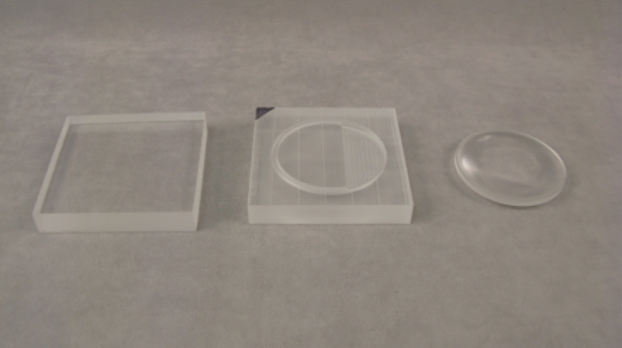 Acrylic Lens CNC Machined From Plastic Sheet