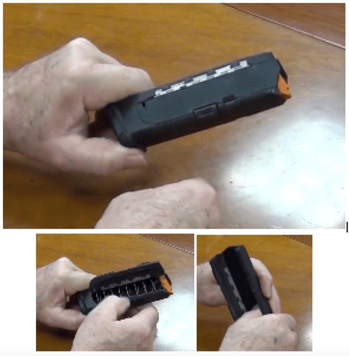 Glock Pistol Magazine Autoloader Design by Creative Mechanisms, patent pending