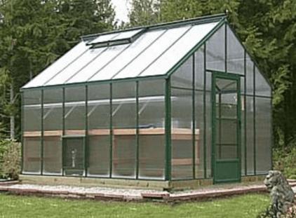polycarbonate plastic greenhouse