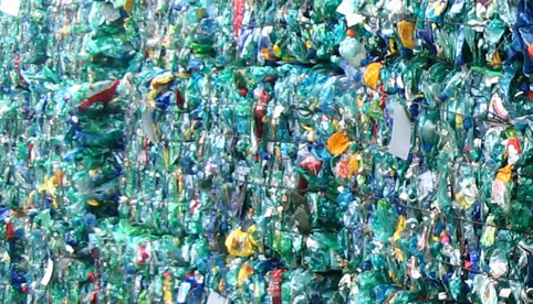 Recycling plastic (PET) bottles