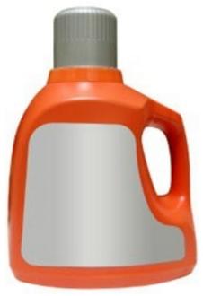 Polyethylene (PE) Plastic Detergent Bottle