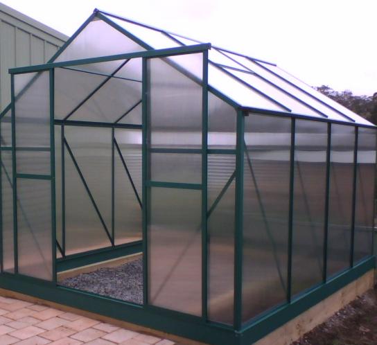Polycarbonate (PC) Transparent Plastic Greenhouse