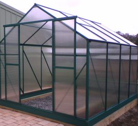 Polycarbonate (PC) Transparent Plastic Greenhouse