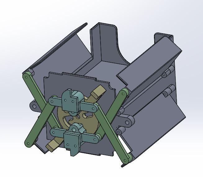 Prototype Mechanism Levered Basket