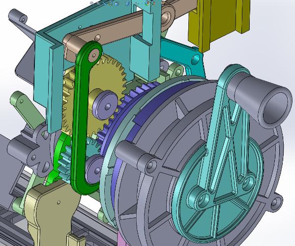 Prototype Gears and Handle